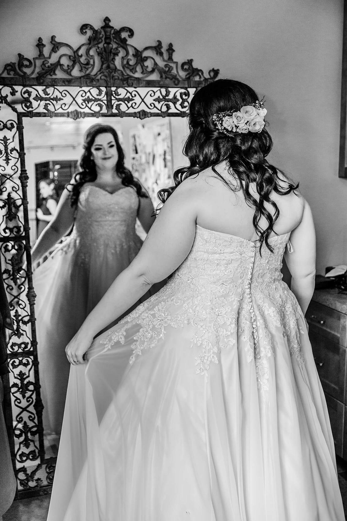 Bride at The Marmalade Lily