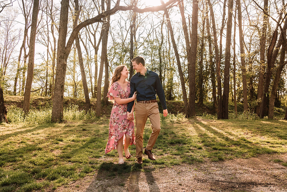 Kentucky engagement session
