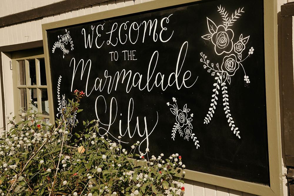 The Marmalade Lily wedding venue