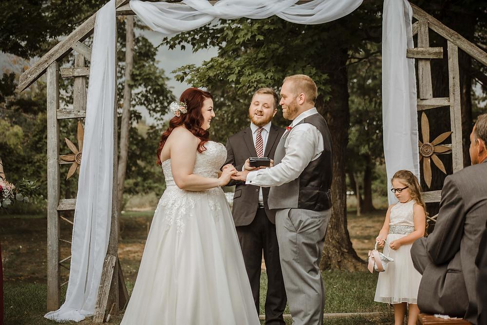 Wedding at the Marmalade Lily wedding venue