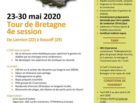 Tour de Bretagne du 23 au 30 mai !