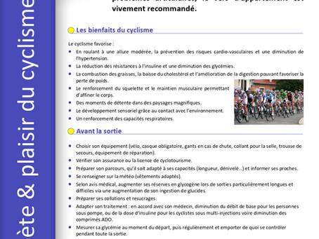 Fiche cyclisme et diabète