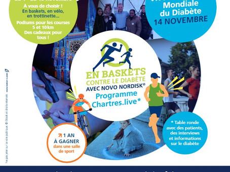 Journée Mondiale du Diabète à Chartres