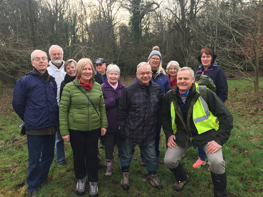 The VBC walking group had a most enjoyable and informative walk through Knockholt and surrounding area.The weather was good to us and after our walk we had a good chat and cuppa at Coolings.Looking forward to the next one soon.