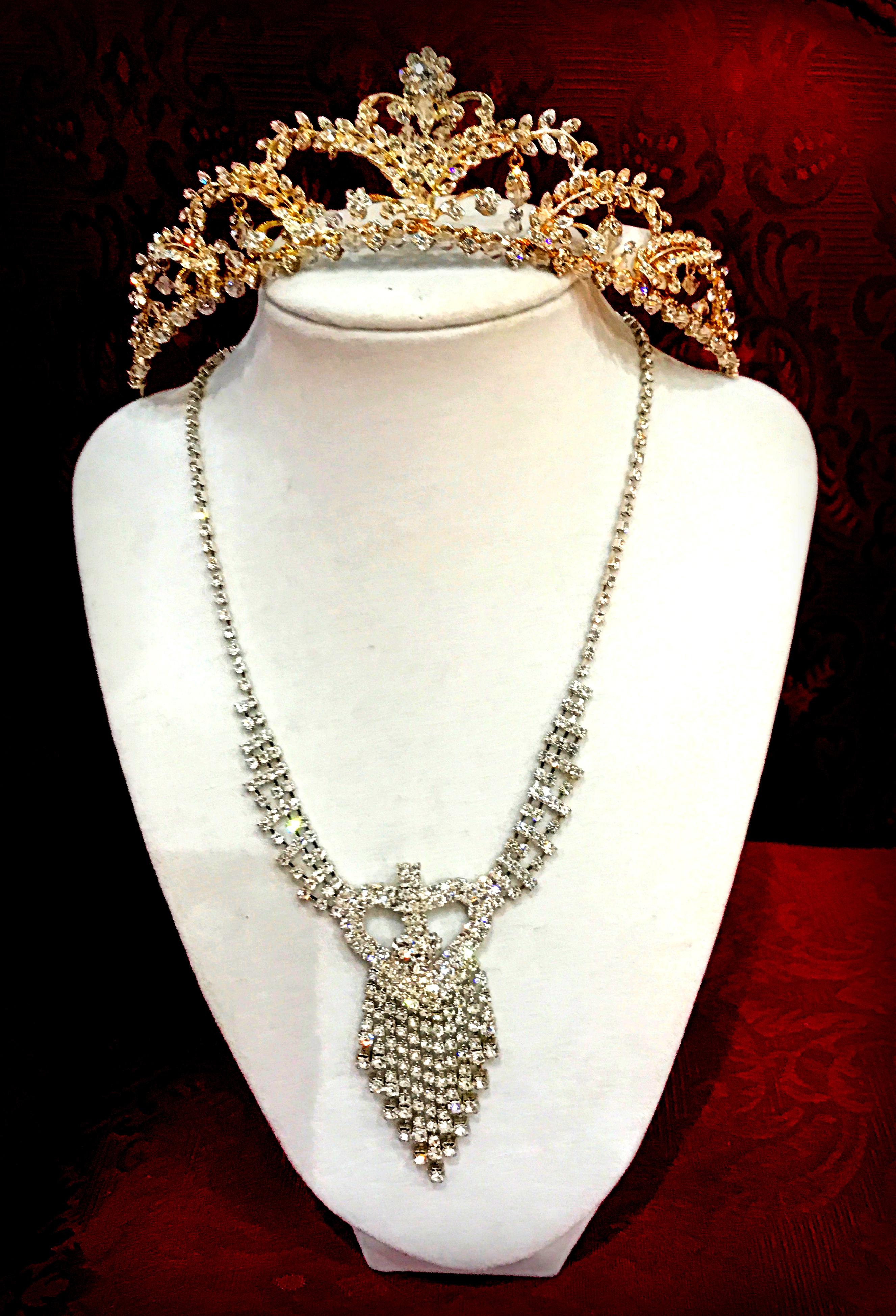 Tiara and Necklace Set