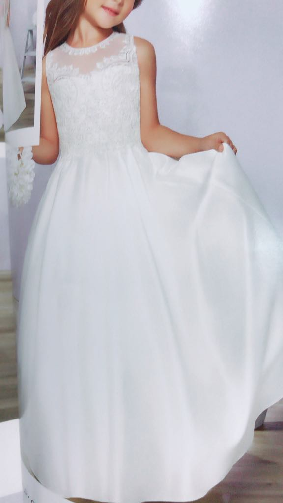 first communion dress girl