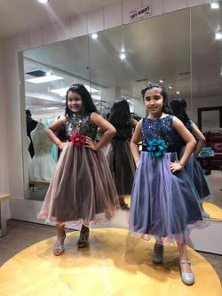 little girls formal dress
