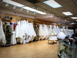 Bridal Collection Area in Store