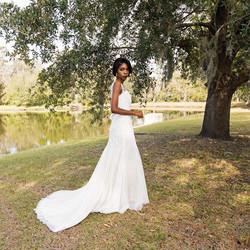Professional wedding Model
