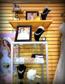 bridal accessories set
