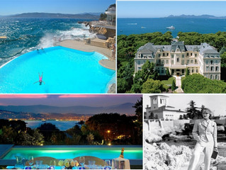 5th year anniversary at Hotel Du Cap Eden Roc Cap d'Antibes in Cote d'Azur