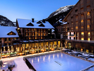 Winter is here at The Chedi Andermatt in Swiss Alps