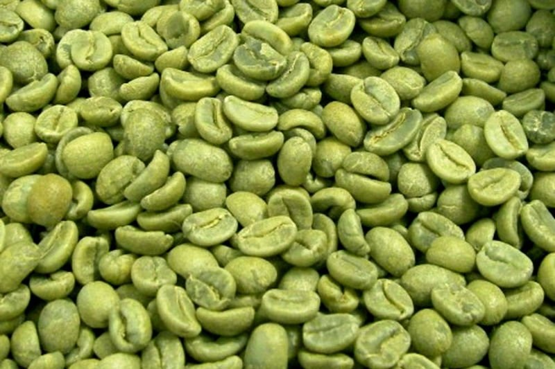 GREEN COFFEE BEAN CAFFEINE