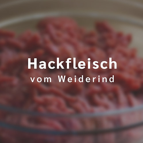 Hackfleisch vom Weiderind (etwa 500 g)