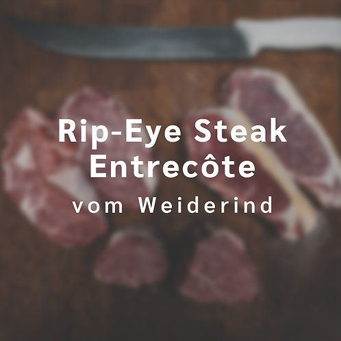 Rib-Eye-Steak / Entrecôte vom Weiderind (1 Steak á 400 - 600 g)