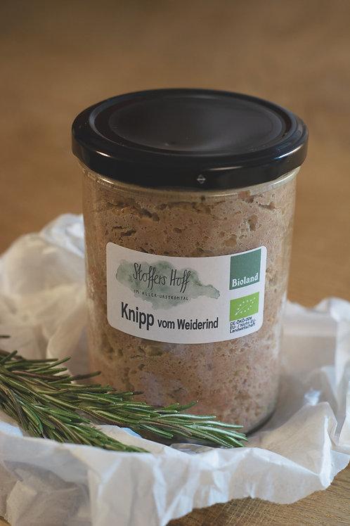 Knipp vom Weiderind (400 g im Glas)