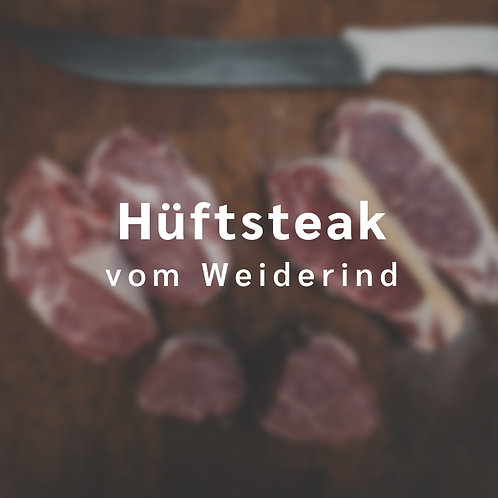 Hüftsteak vom Weiderind (1 Steak á 350 - 550 g)