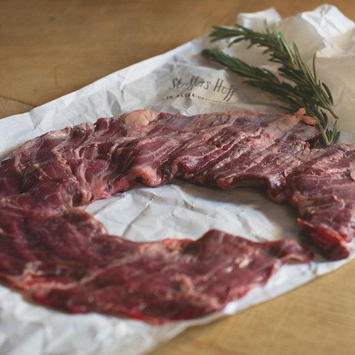Outside Skirt Steak/ US Beef Skirt vom Weiderind (1 Steak á 100 - 280 g)