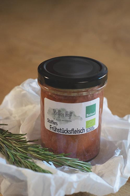 Stoffers Frühstücksfleisch vom Weiderind (200 g im Glas)