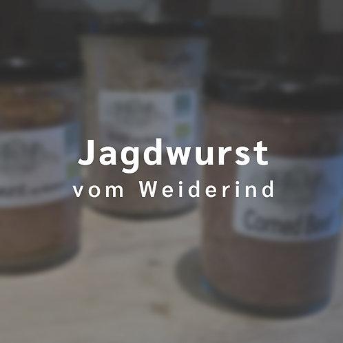 Jagdwurst vom Weiderind (200 g im Glas)