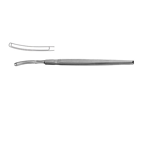 Converse Rhinoplasty Knife Curved 15cm Button End