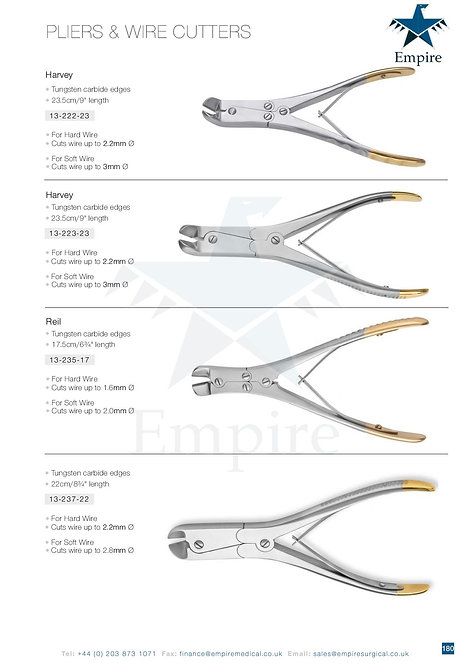 PLIERS & WIRE CUTTERS