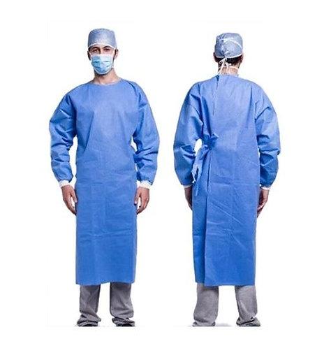 EN13795 SMMS Fluid Resistant Sterile Surgical Gowns (Large) CE ISO FDA x 50 pcs
