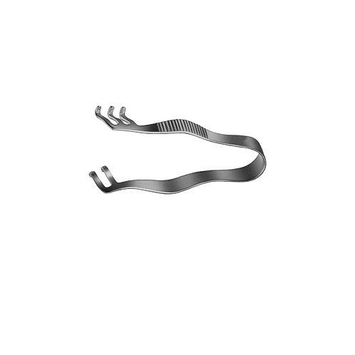 Finsen Retractor 5cm 2×3 Prongs
