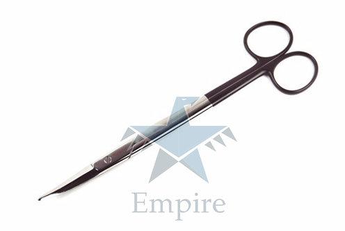 GORNEY FREEMAN Scissors, Black Handles, 19cm, 7.5 inches, CVD tips