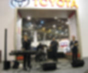 Gary-Michael Dahl Band performs at Houston Auto Show