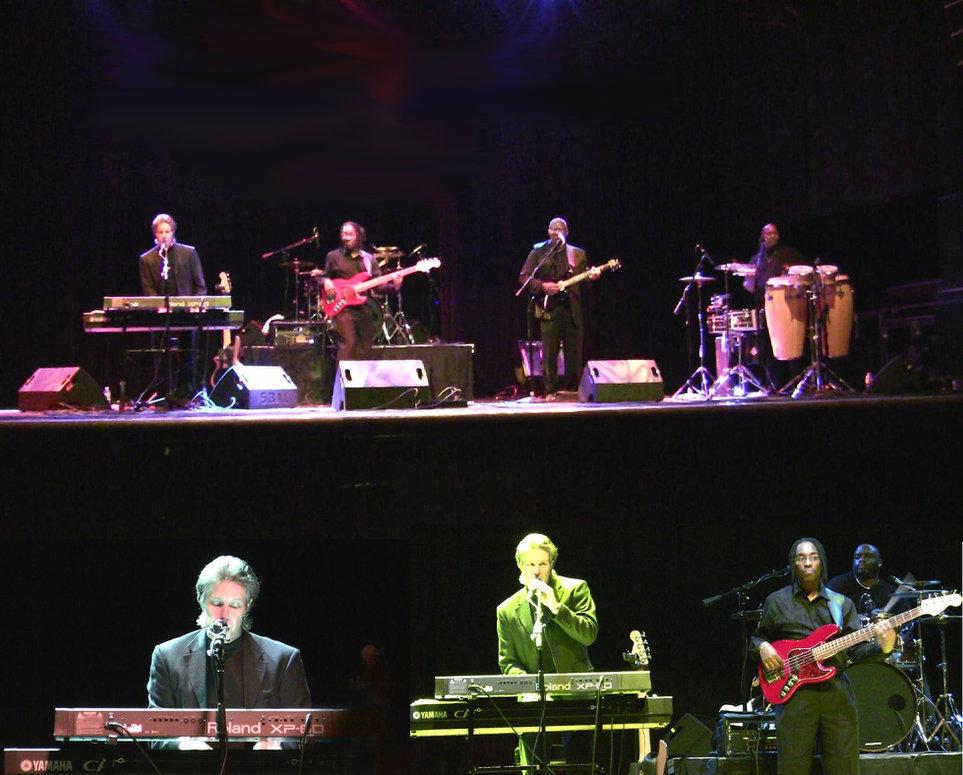 Gary-Michael Dahl Band performing at House Of Blues