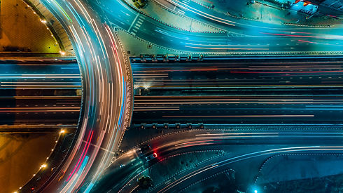 Expressway top view, Road traffic an imp