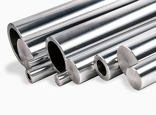 steel bars and tubes