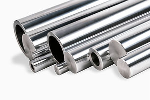 steel bars and pipes