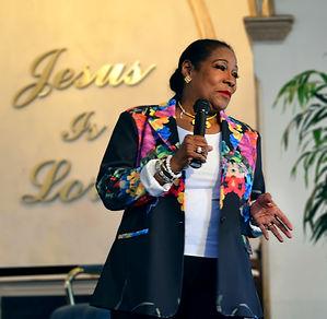 Dr. Bernadette Anderson Sword of the Spirit Christian Center