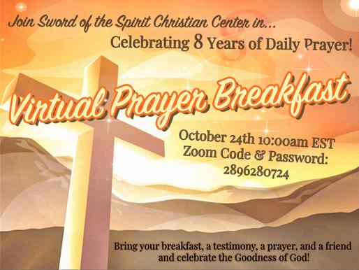 Celebrating 8 Years of Prayer!