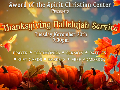 Thanksgiving Hallelujah Service