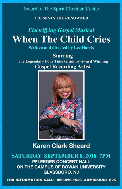When The Child Cries: The Electrifying Gospel Musical