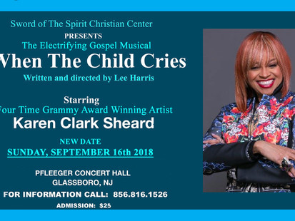 NEW DATE for When The Child Cries