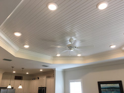 Tray ceiling option