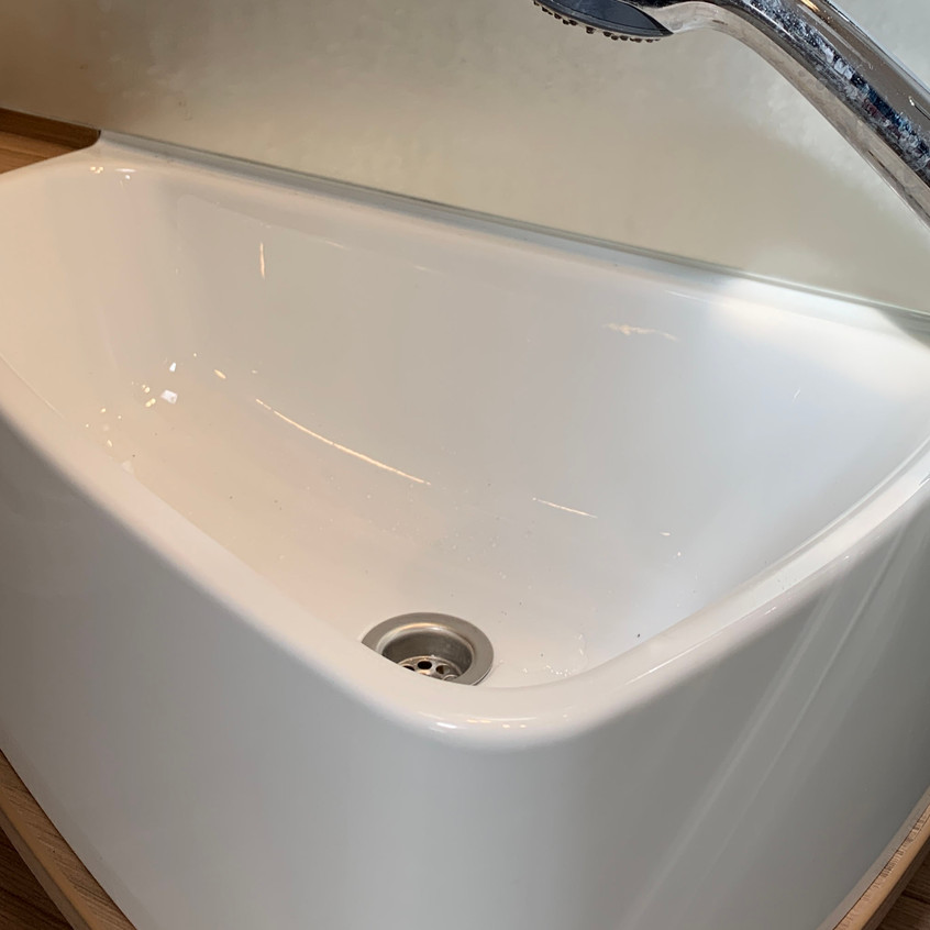 sink fitted