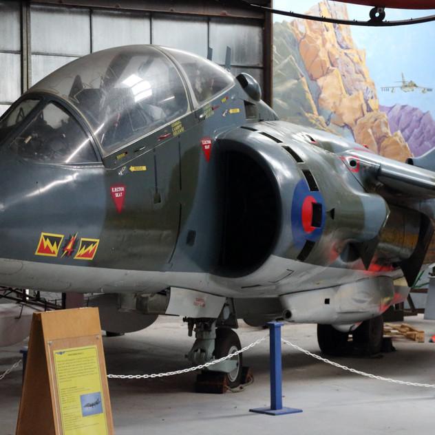 Harrier T2  XW269 (TB)
