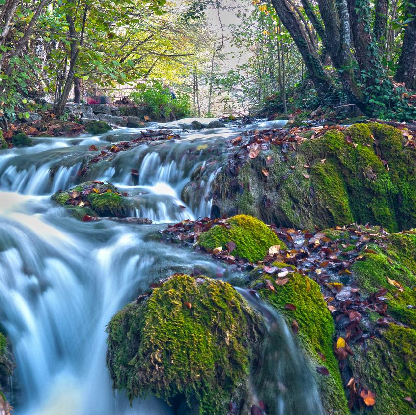 waterfall web