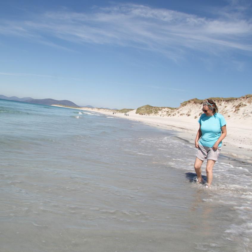 Jean in the sea west shore