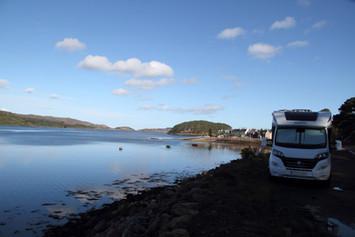Sheildaig Layby Loch Torridon