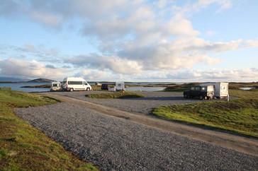 Moorcroft campsite (North Uist)