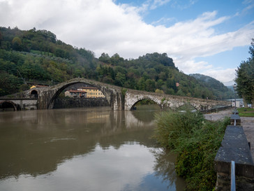 Tuscany in the rain.