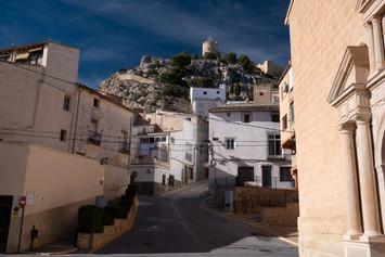 Castalla 35 km North from Alicante