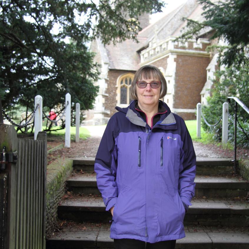 Jean at the Church