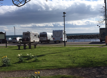 Helmsdale Harbour Wildcamp